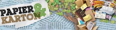 landscape oud papier en karton