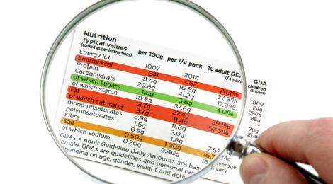 Voedingsprofielen op verpakkingen