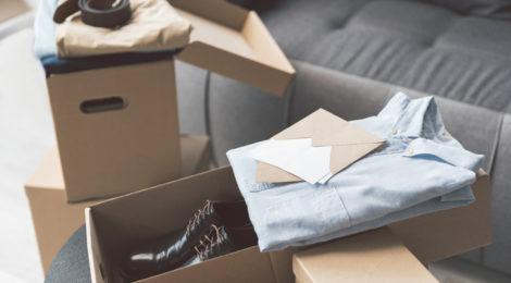 kleding verpakking